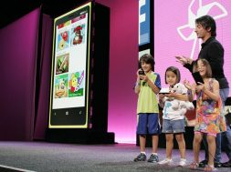 Joe Belfiore Demos Kids Corner WP8 Launch
