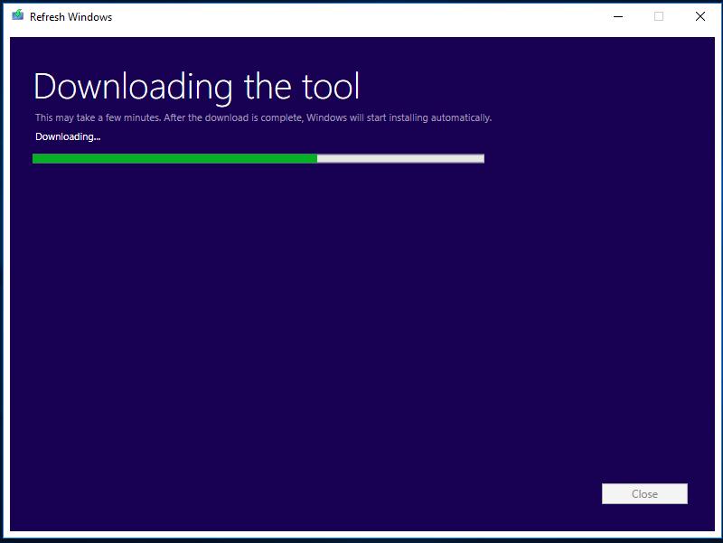 Microsoft выпустила инструмент Refresh Windows