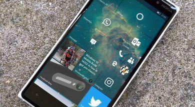 Windows 10 Mobile Start