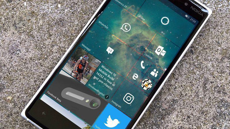 Обновление Anniversary для Windows 10 Mobile будет выпущено в «ближайшие недели»
