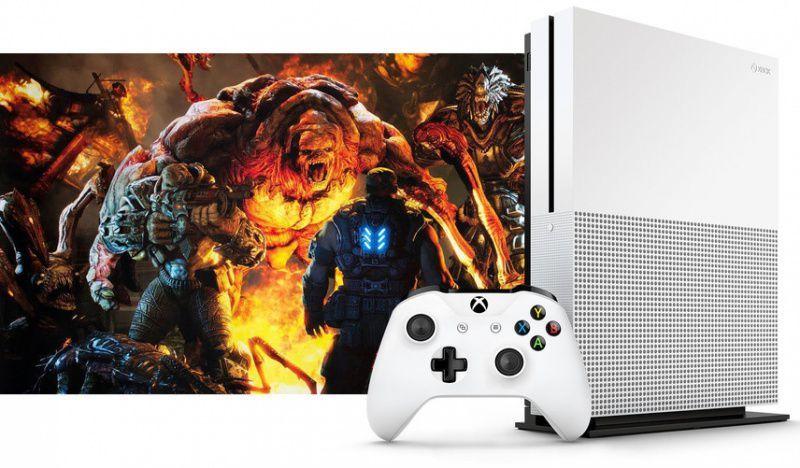 Утечка изображений и характеристик Xbox One S