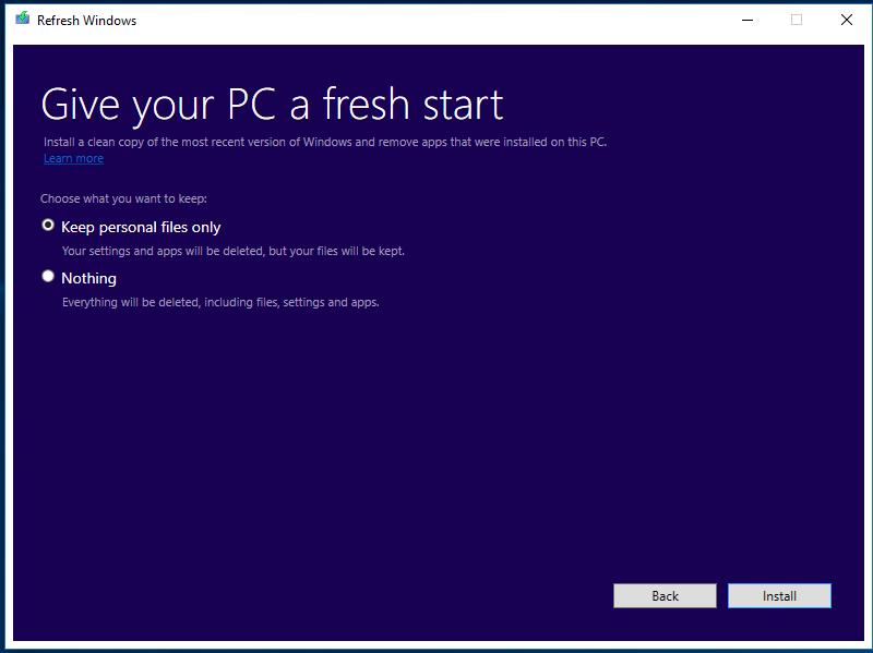 В сети появился инструмент Refresh Windows