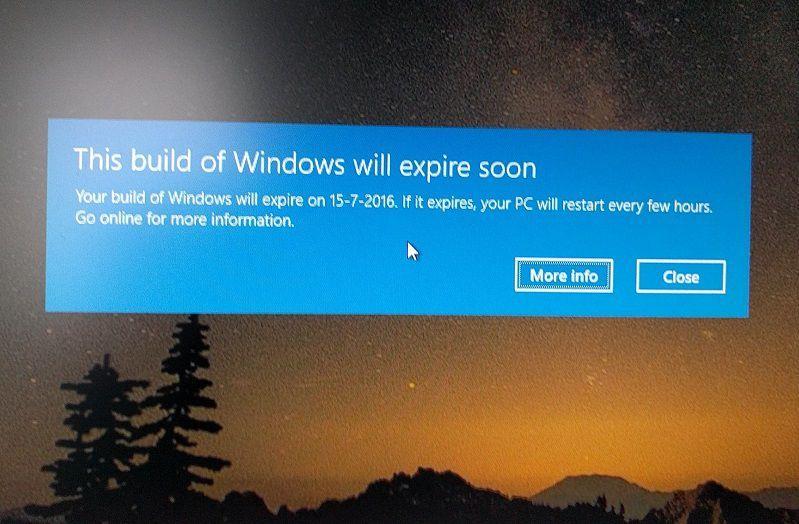Microsoft готовится к выпуску финальной сборки Windows 10 Anniversary Update