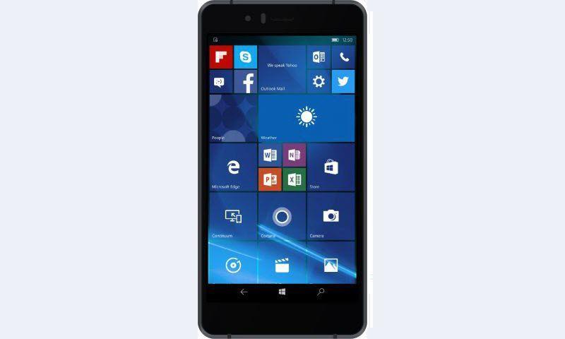 Lenovo представила свой первый смартфон с Windows Mobile 10