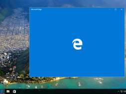 Microsoft Edge in Windows 10 Anniversary Update