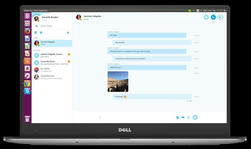 Microsoft выпускает Skype Alpha для Linux
