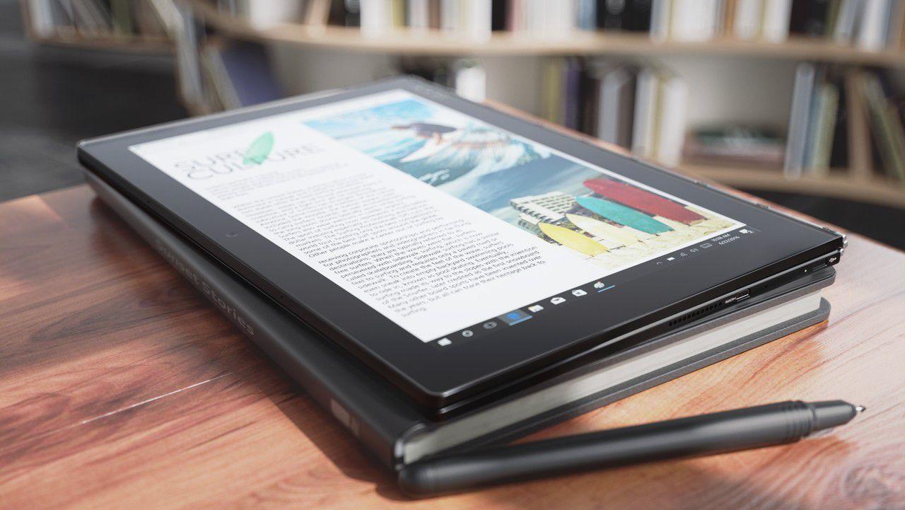 Lenovo Yoga Book – ноутбук с клавиатурой, на которой можно писать