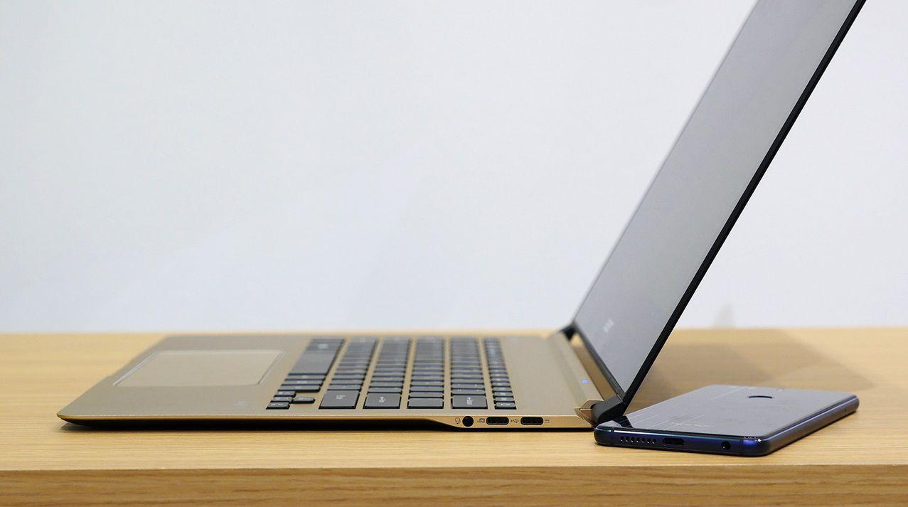 Acer Swift 7 – первый ноутбук с толщиной менее 1 см