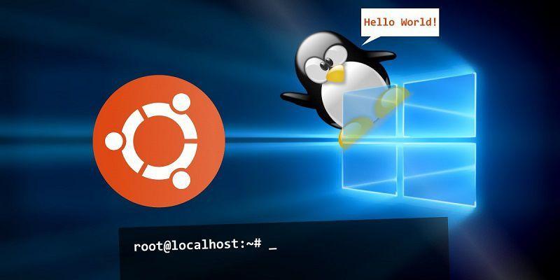Как установить Linux-оболочку bash в Windows 10
