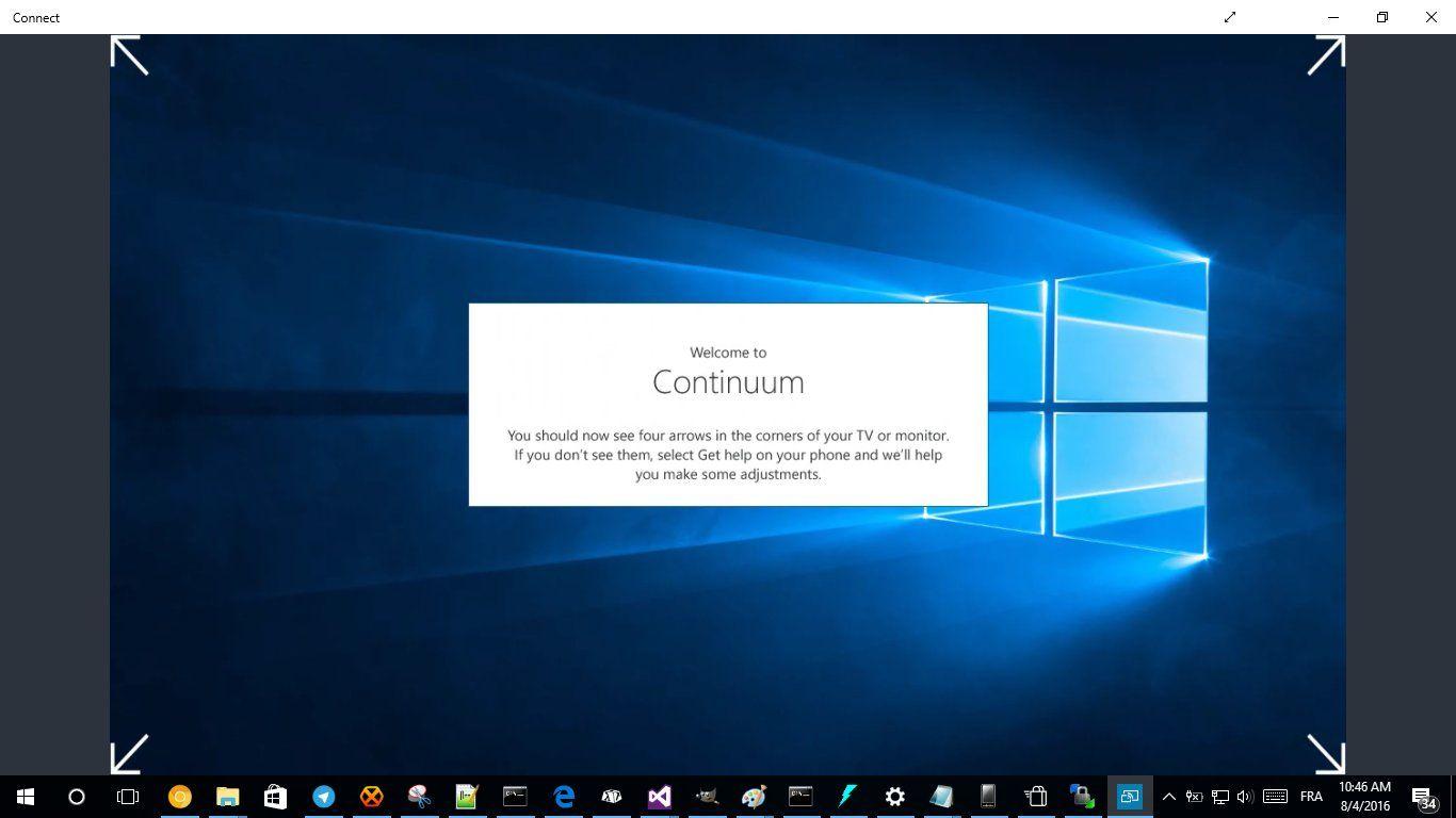 Continuum запустили на Nokia Lumia 830