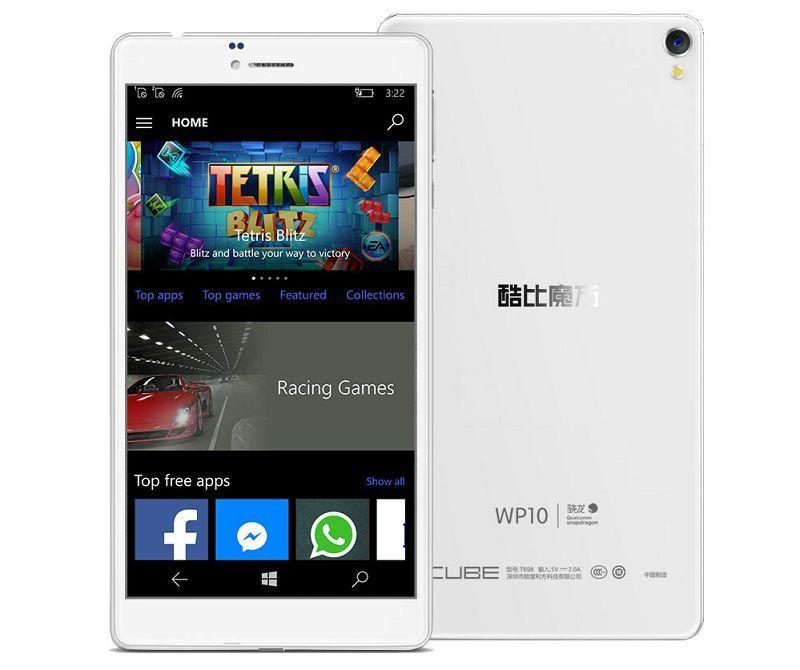 Смартфон Cube WP10 с Windows 10 Mobile появился на AliExpress