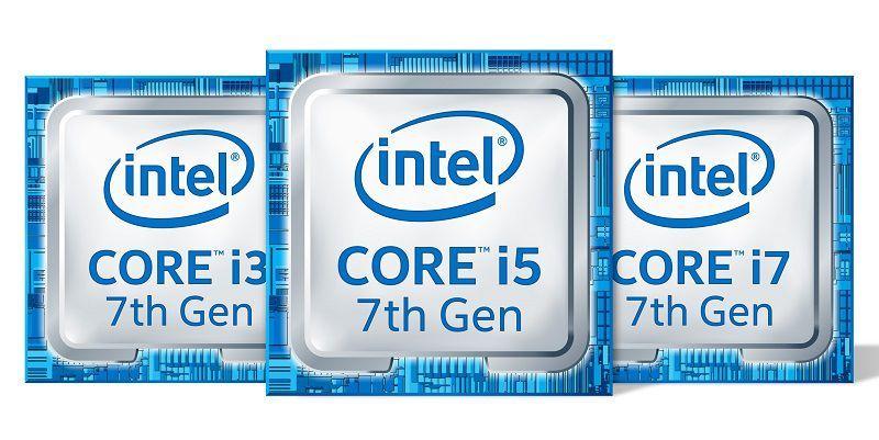 Intel официально представила 7-е поколение процессоров Intel Core