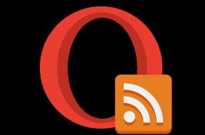Opera RSS