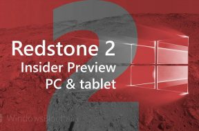 Redstone 2 PC and tablet