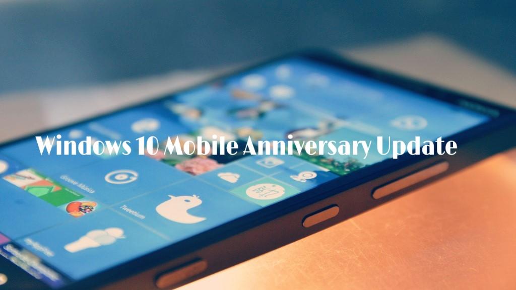 Изменения и улучшения в Windows 10 Mobile Anniversary (version 1607)