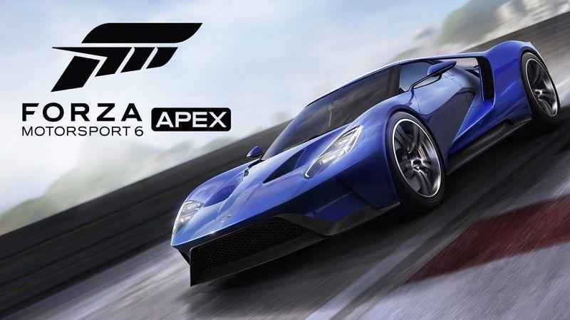 Выпущена финальная версия Forza Motorsport 6: Apex для Windows 10