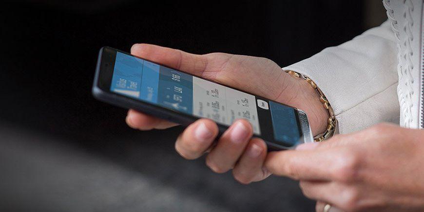 Microsoft запатентовала сканер отпечатков пальцев на дисплее