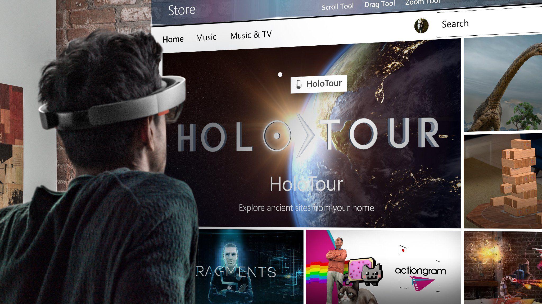 Microsoft начинает продажи HoloLens в нескольких странах Европы. Новая версия в 2017 году?