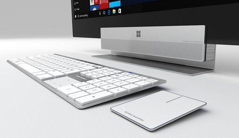 Microsoft готовится выпустить беспроводную клавиатуру под брендом Surface
