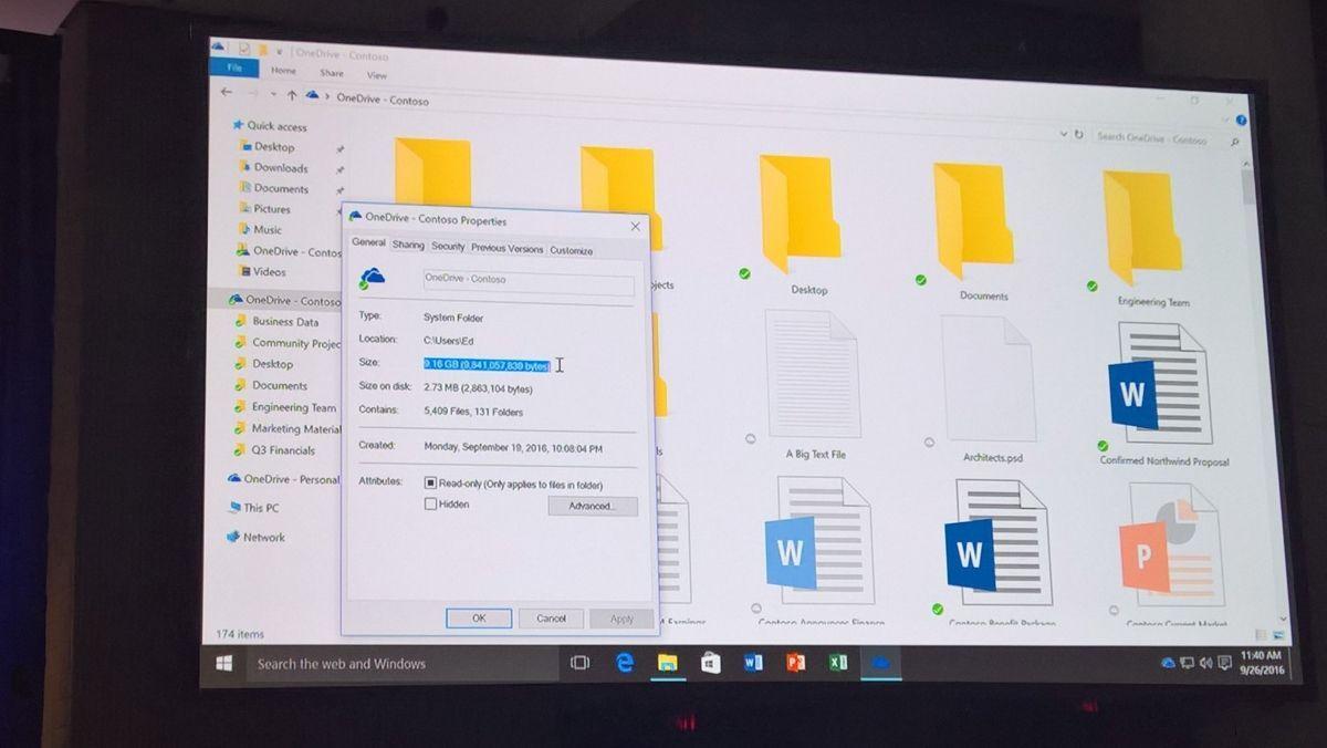 «Файлы-заполнители» вернутся в OneDrive под новым именем On-Demand Sync