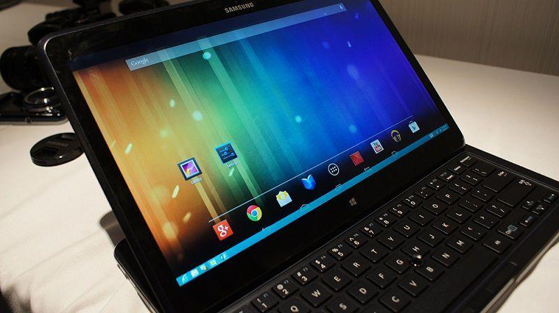Samsung запатентовал смартфон, на котором Android и Windows Mobile работают вместе
