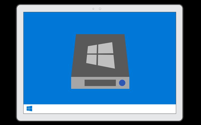 Подключение резервной копии Windows как виртуального диска в программе AOMEI Backupper
