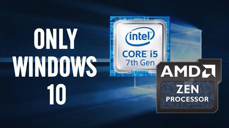 Почему процессоры Intel Kaby Lake и AMD Zen поддерживают только Windows 10