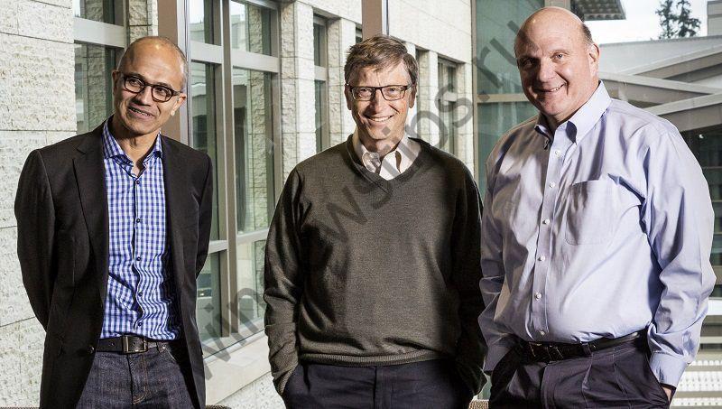 Сатья Наделла управляет компанией лучше, чем это делал Балмер, утверждают сотрудники Microsoft