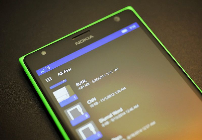 Универсальное приложение OneDrive получило автономный режим
