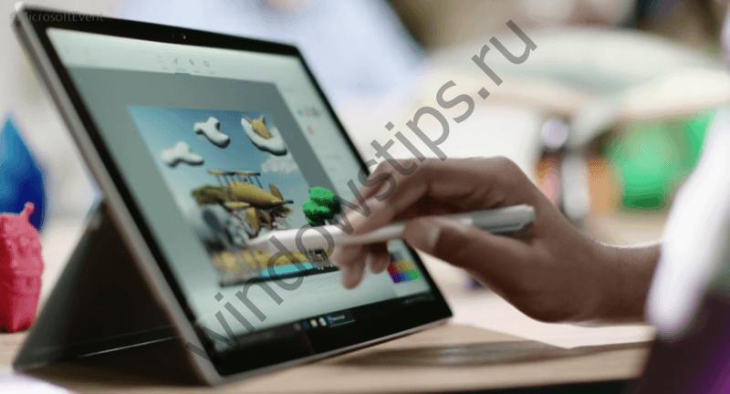 Paint 3D будет выпущен на Windows 10 Mobile