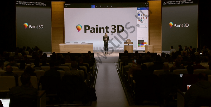 Microsoft анонсировала Paint 3D