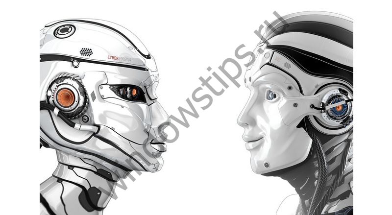 Robot Side Face