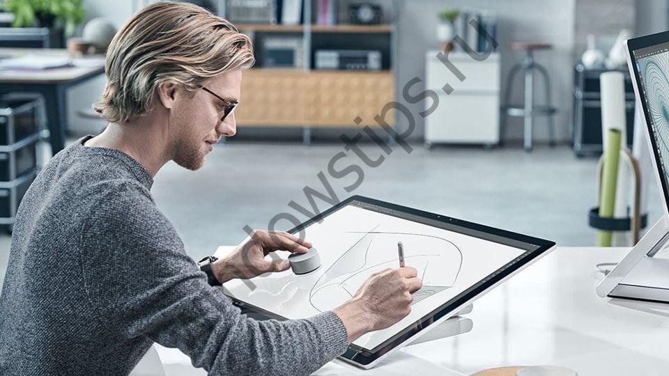 Microsoft Surface Studio: компьютер, который превратит ваш рабочий стол в студию