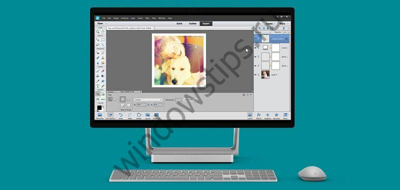 В Магазине Windows появился графический редактор Adobe Photoshop Elements 15