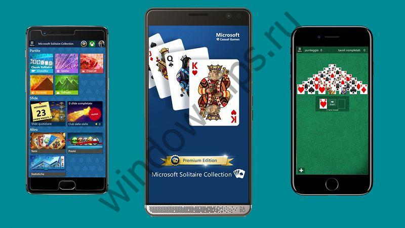 Популярная игра Microsoft Solitaire Collection вышла на Android и iOS