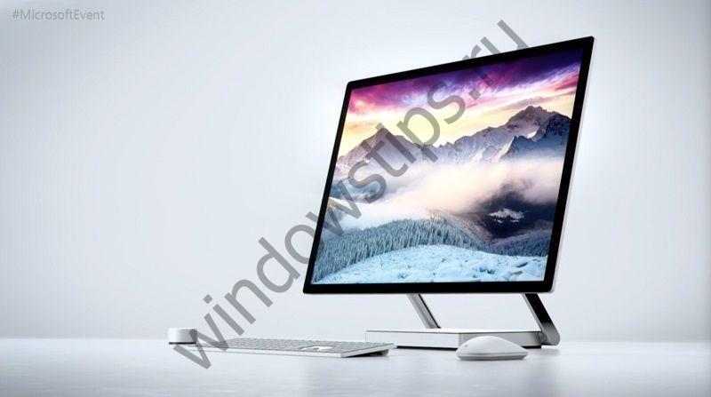Surface Studio: что у него внутри