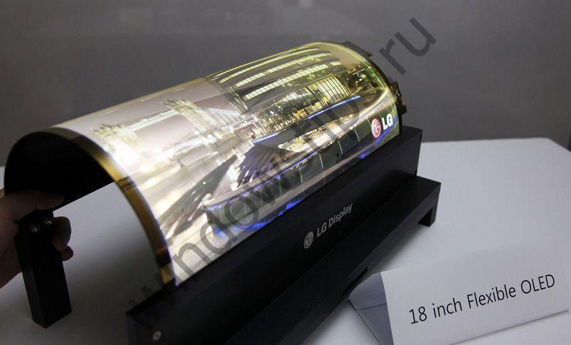 LG создаст гибкие дисплеи для Microsoft
