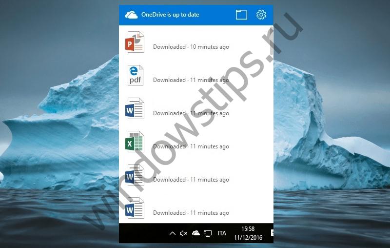 Пользователи Windows 10 начали получать обновление OneDrive с новый дизайном всплывающего окна