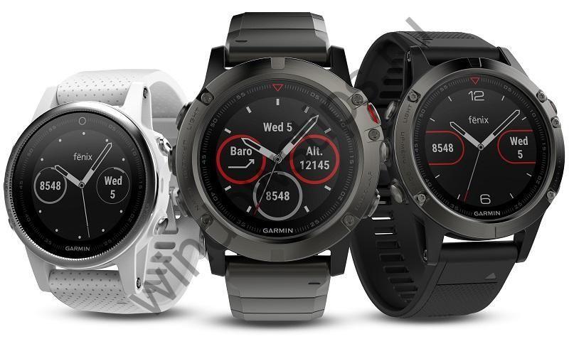 Компания Garmin представила новые фитнес-часы Fenix 5 с поддержкой Windows 10 Mobile