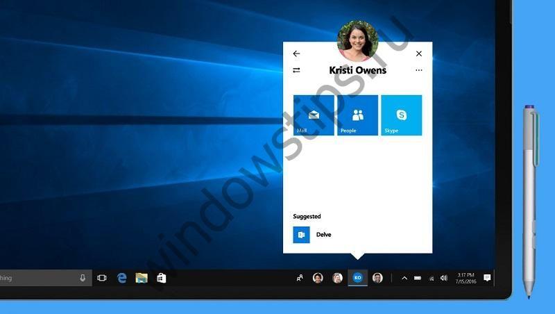 Функция My People для Windows 10 задержится до выпуска следующего крупного обновления