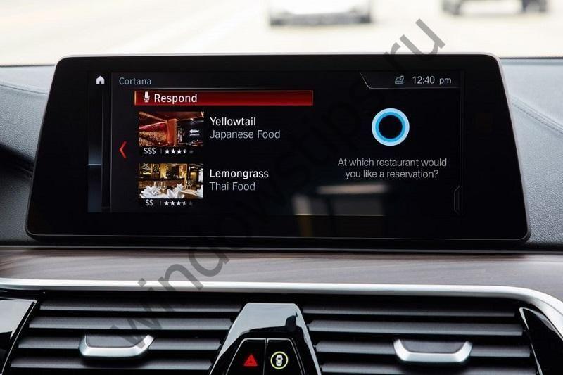 Cortana будет интегрирована в автомобили Nissan и BMW