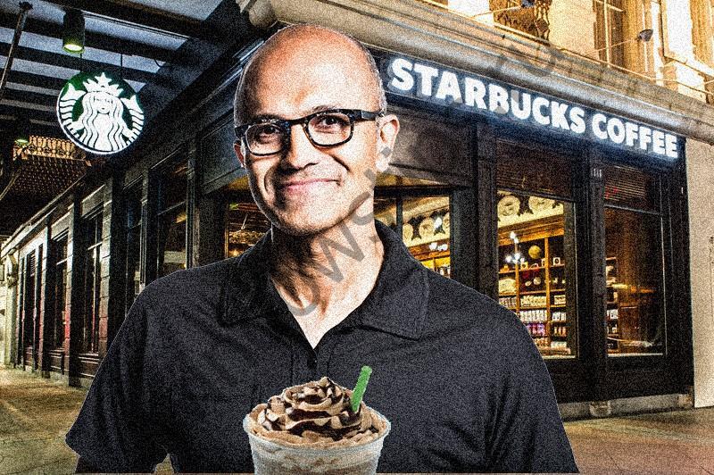 Сатья Наделла присоединится к совету директоров Starbucks