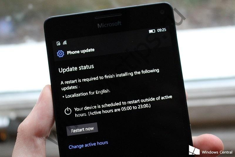 Сборка Windows 10 Mobile Preview 15043 отправлена в Slow Ring