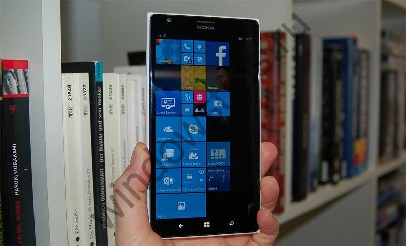 Новые функции в Windows 10 Mobile появятся «в свое время»