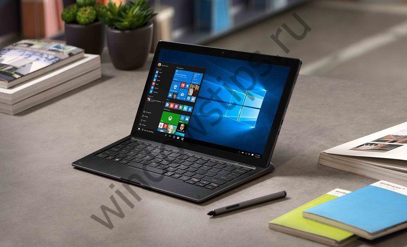 На MWC 2017 представлен планшет Alcatel PLUS 12 с Windows 10 и LTE