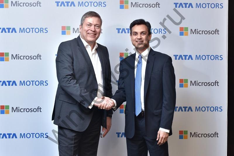 Microsoft и Tata Motors стали партнерами