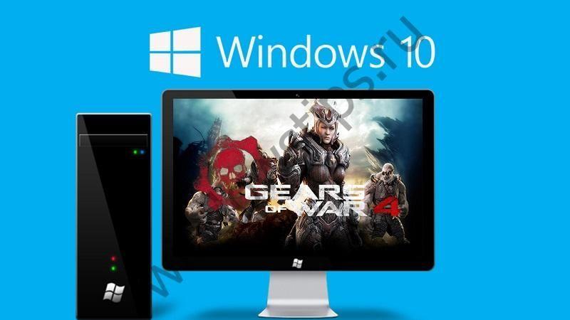 Некоторые пользователи Windows 10 получили огромное 248-гигабайтное обновление для Gears of War 4