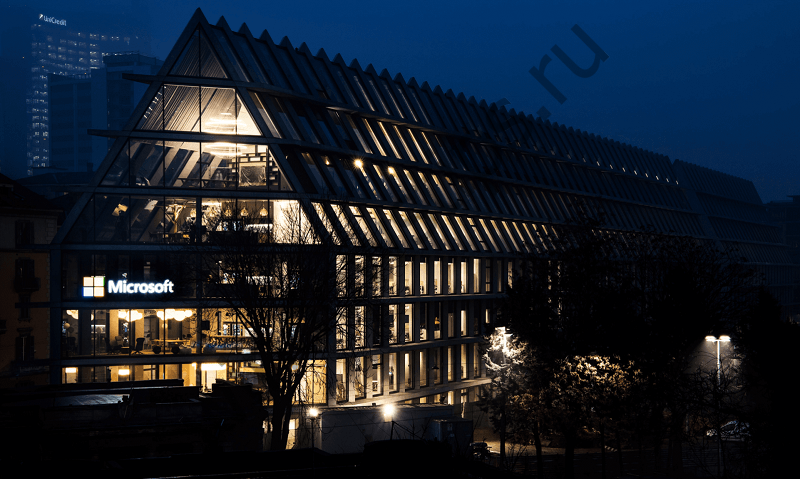 В Милане открылась новая штаб-квартира Microsoft
