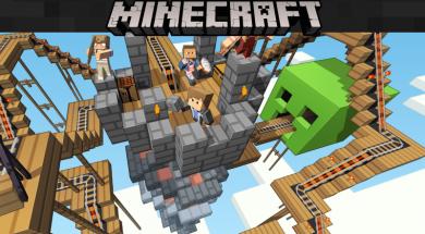Minecraft Pocket Edition on Windows 10 Mobile