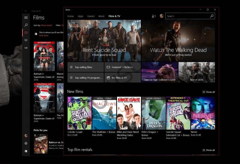 Приложение «Кино и ТВ» будет поддерживать 360-градусные видео в Windows 10 Creators Update